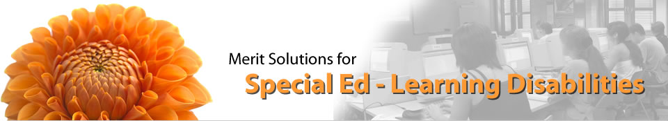 Merit Software Solutions For Special Ed - Learning Disabilities